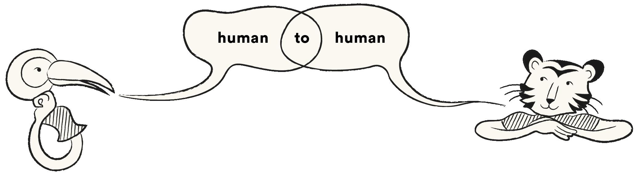 Literal Humans Illustration