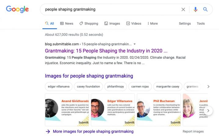 organic-serps-people-shaping-grantmaking-first-result-submittable-case-study-1-min